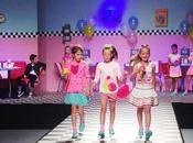 sfilata CHILDREN'S FASHION FROM SPAIN svolta ieri Pitti Bimbo un'atmosfera allegra festosa.