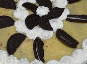 Torta semifredda alla crema Oreo