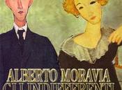 Alberto Moravia, Indifferenti: «Lentamente muore capovolge tavolo»