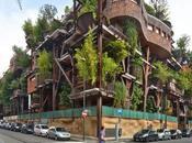 Verde foresta artificiale cuore Torino