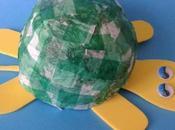 Creare degli animali cartapesta: Tartarughe