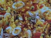 Paella pesce