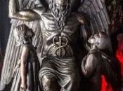 Satanic Temple svela enorme statua bafometto Detroit