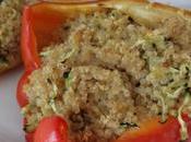 Peperoni ripieni Quinoa Zenzero