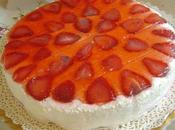 Torta dacquoise alle fragole