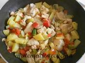 Padellata Petto Pollo Verdure insaporite Curry