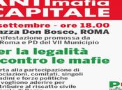 Manifestazione dopo funerale Casamonica: contro mafie corruzione aspettiamo