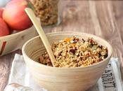 Granola quinoa, albicocche pistacchi