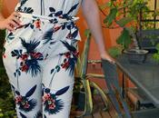 Pillole lunedì Tropical print outfit