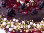 Bavarese cioccolato bianco frutti bosco
