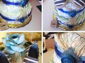 D.I.Y. Diaper Cake Torta Pannolini