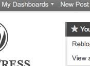 """WordPress ancora """"Like"""" funzione Reblog"""