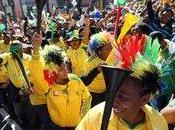 Mondiali SudAfrica2010 SudAfrica-Messico: Stop alle Vuvuzelas durante inni nazionali