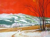 Oils canvas 74,5 .NEVE D'INVERNO .....WINTE...