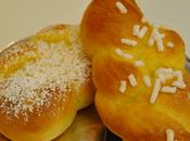 Treccine panbrioche lemon curd zucchero grane...