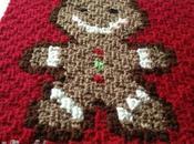 Settimo quadrato coperta natalizia: Gingerbread