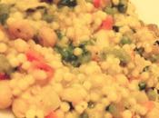 Fregola risottata verdure