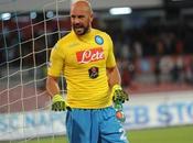 Solo maglia gialla Napoli Pepe Reina