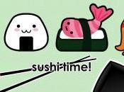 Pontomedusa mangiare sushi