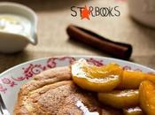 Pancakes alla cannella mele caramellate