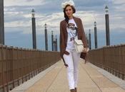 Fata d'autunno: maxi cardigan t-shirt Siamoises