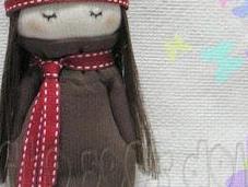 Tutorial bambolina fashion fatta calzini