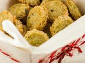 Piccoli sablé salati pistacchio: smanie Natale.