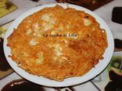 Primi: Frittata pasta