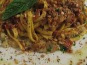 Fettuccine funghi porcini pomodori secchi