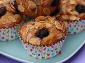MUFFIN MIRTILLI, MANDORLE CANNELLA
