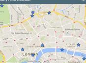 Mappa interattiva delle location Harry Potter