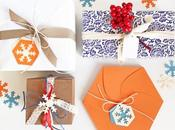 XMAS Gift Wrapping Cesvi {and free printable!}
