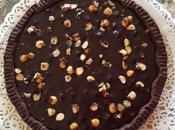 Crostata frolla cacao ganache cioccolato nocciole