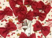Decorazioni natalizie tavola