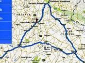 Mappa viaggio India 2015