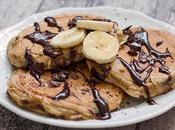 Pancake Fondant alla Banana Cioccolato