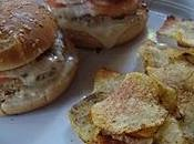Hamburger pollo speziato