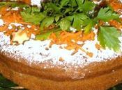 Torta carote cacao light