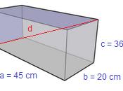 Problema svolto calcolo della diagonale parallelepipedo rettangolo