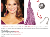 [DIY] Natalie Portman's Tassel earrings