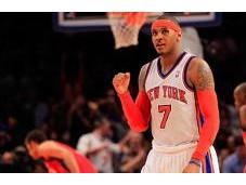 NBA: Melo Bron trascinatori