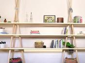 DESIGN: Tipi shelves Joynout, ispirato viaggio
