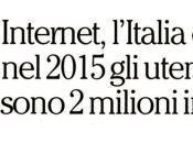 crescita soggettiva Internet Italia