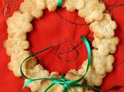 Coroncine last minute appendere all'albero..biscotti gogò ..BUON NATALE!!