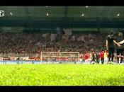 (VIDEO)Players fans Union Berlin celebrate together