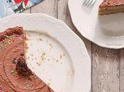 Torta Zenzero Glassa Cioccolato
