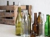 Cinque idee riciclare bottiglie vetro