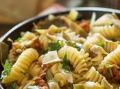Pasta carciofi scaglie parmigiano reggiano