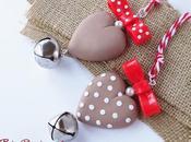 Ornamenti Cuore Shabby Christmas Ornaments