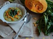 Passato fave zucca catalogna peperoncino